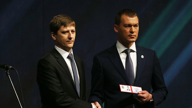 Председатель Совета Хабаровского Крайпотребсоюза посетил инаугурацию губернатора Хабаровского края